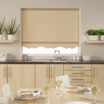 A Kitchen Roller Blind