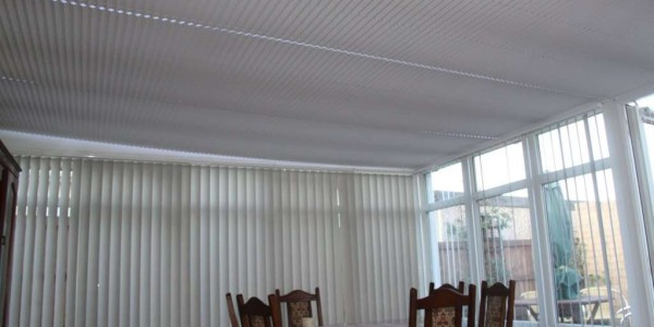 Standard Pleated Roof Blinds