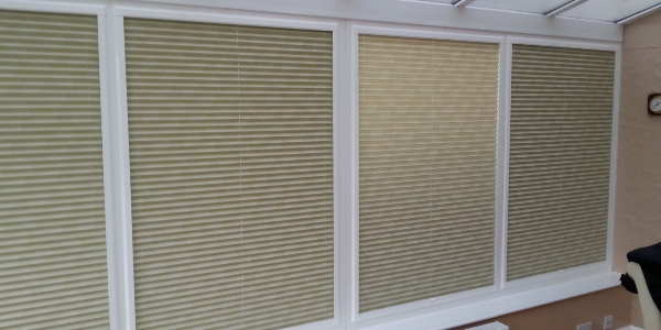 Perfect Fit Pleated Side Blinds