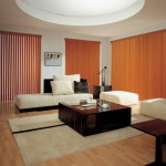 Domestic Wooden Vertical Blinds