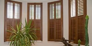 Interior Hardwood Shutters