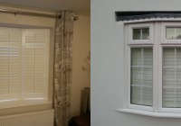 Bay Window Plantation Shutter