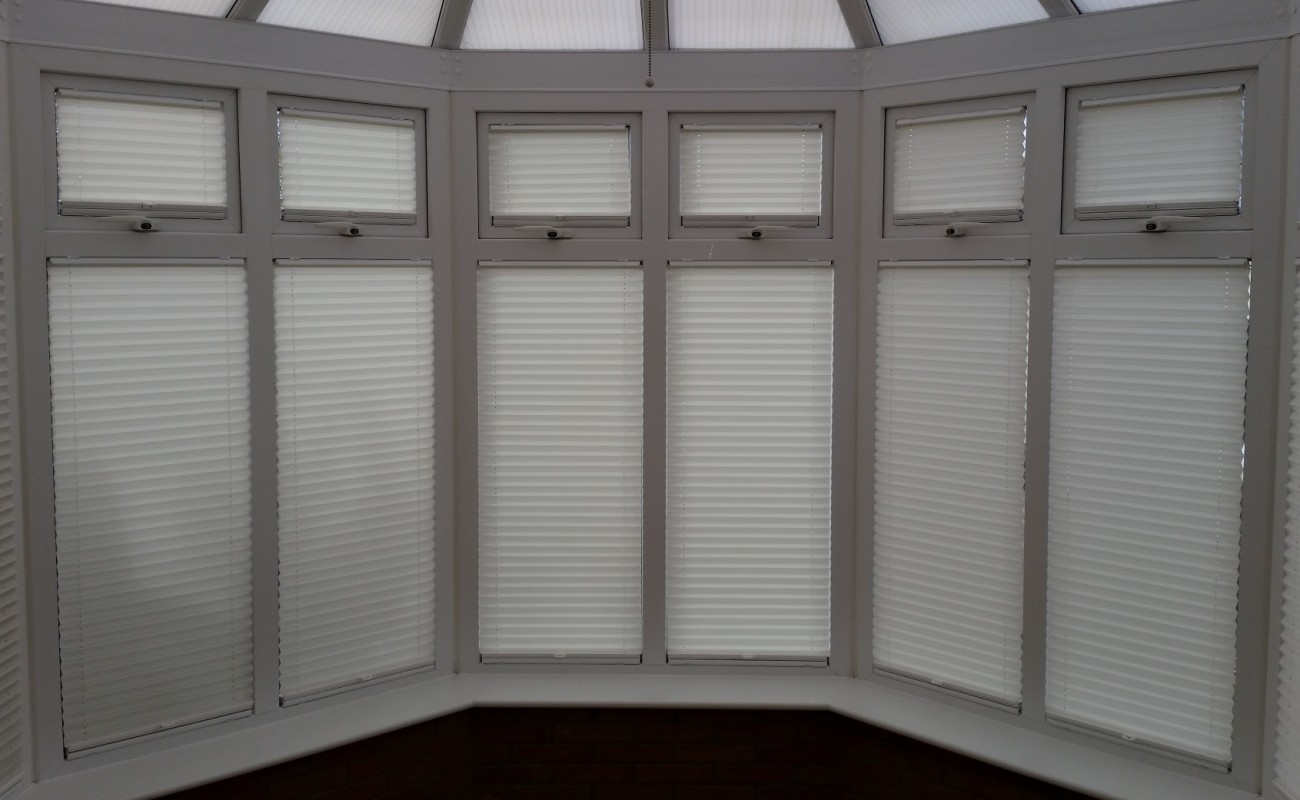 Standard Pleated Blinds