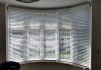 Bay Window Wooden Venetian Blinds