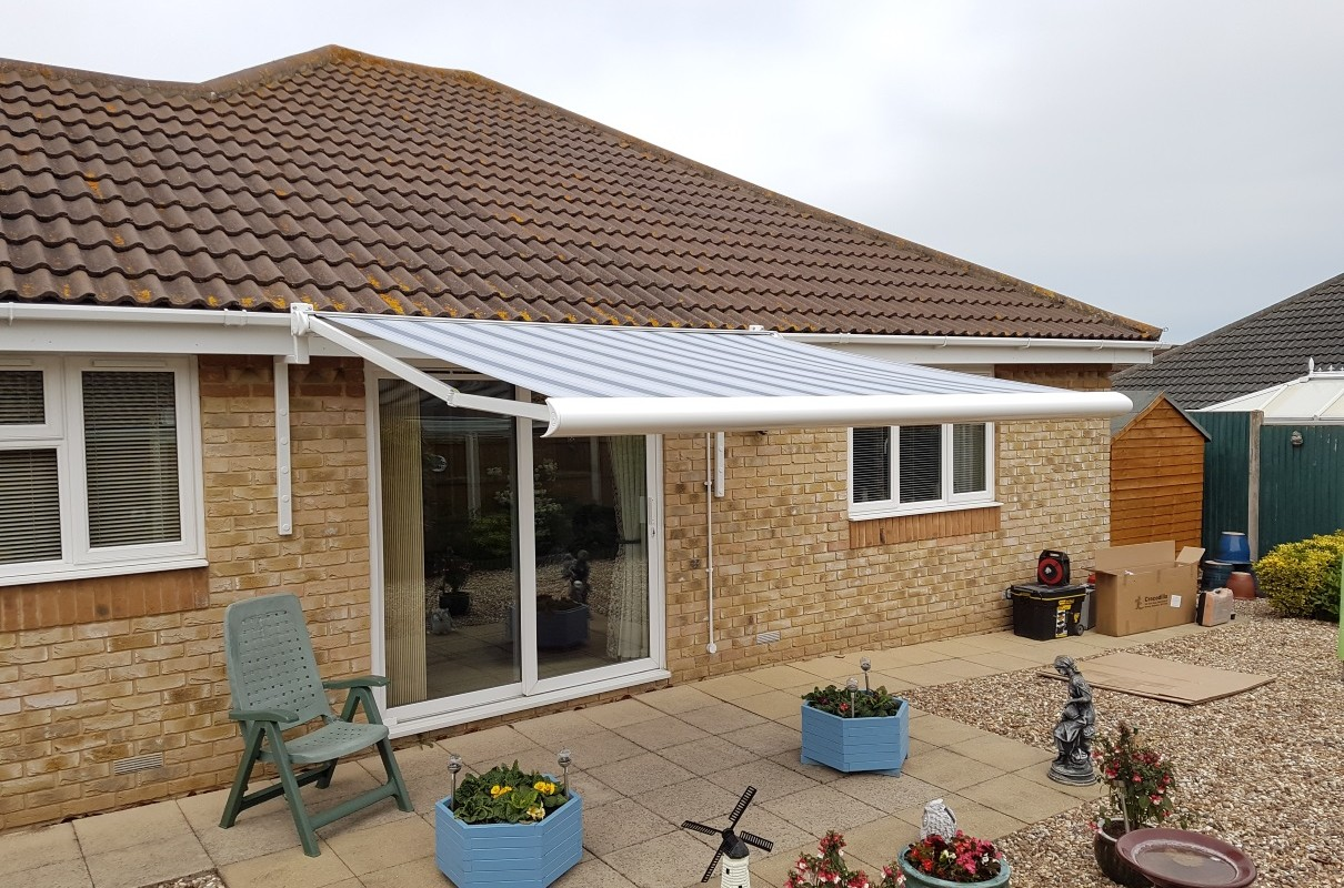 Latest Install: Electric Awning