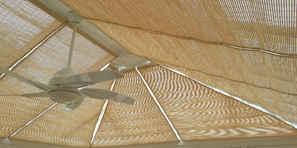 Blinds for the roof