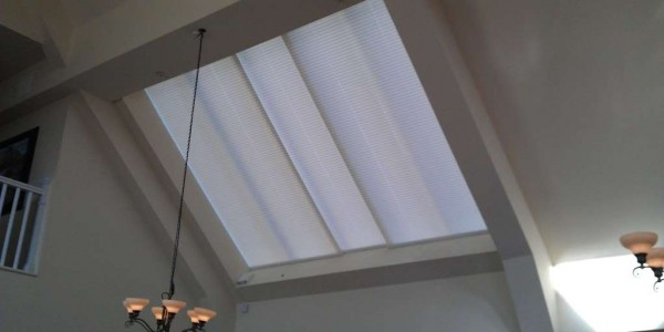 Electric Pleated Blinds