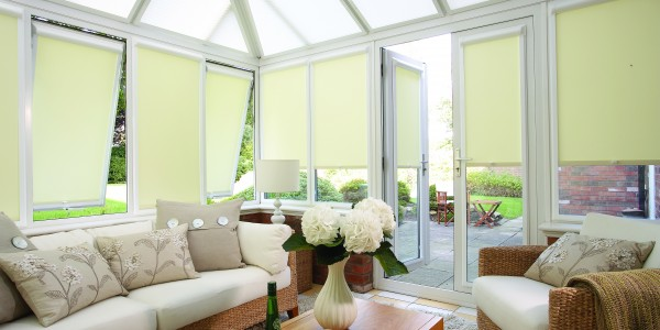 Blinds for the side windows