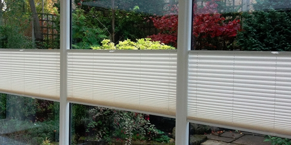 Multizone Pleated Blinds
