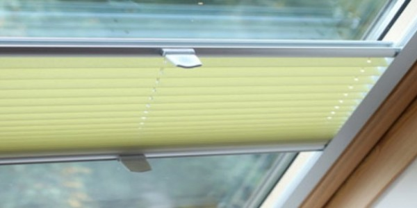 Velux & Rooflight Pleated Blinds