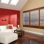 An example of Wooden Full Height Shutters