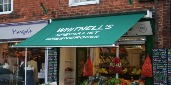 Traditional Shop Awnings