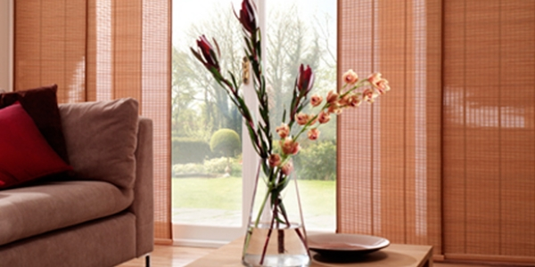 Pinoleum Weave Panel Blinds
