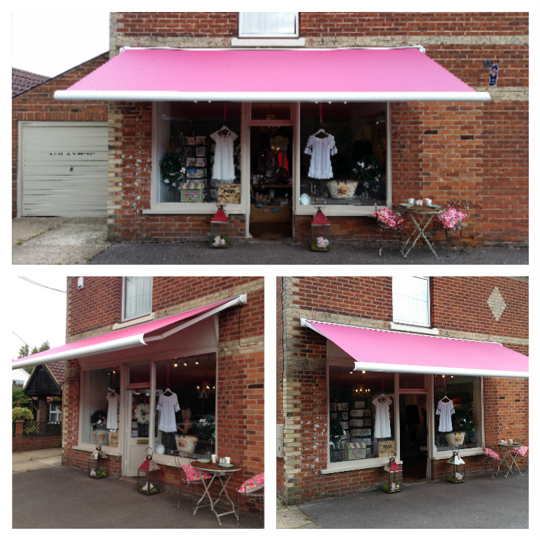 Kitty Rose new electric awning