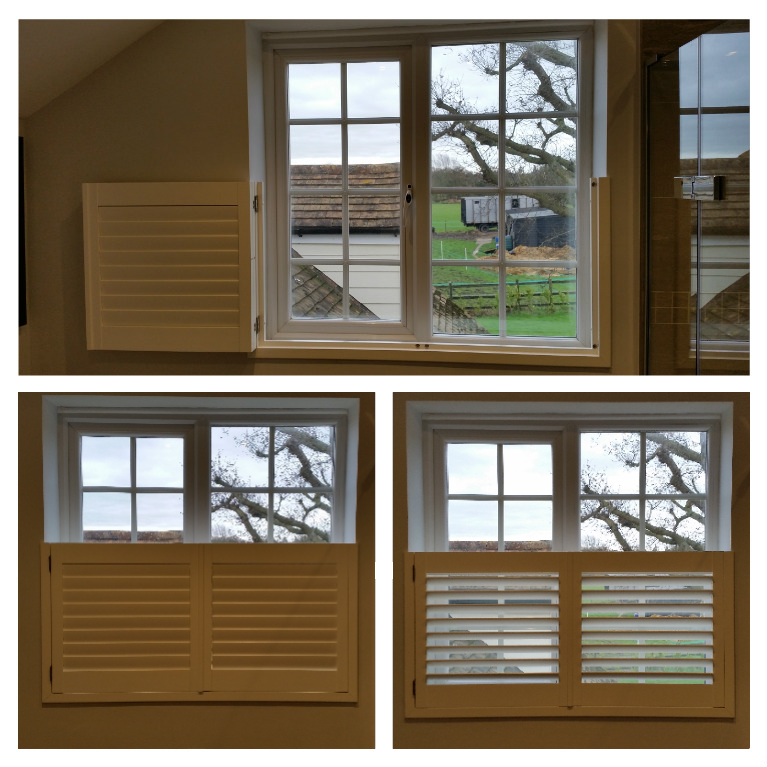 Café Style Plantation Shutter - Othello Blinds